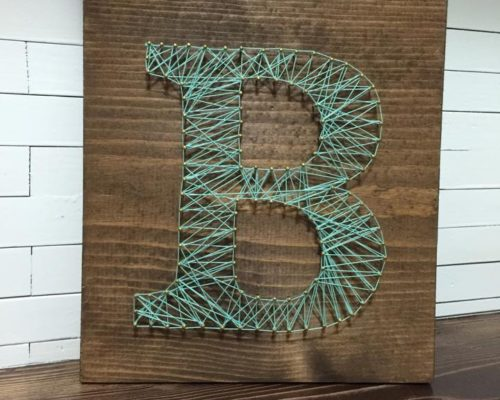 May Craft Club { String Art }